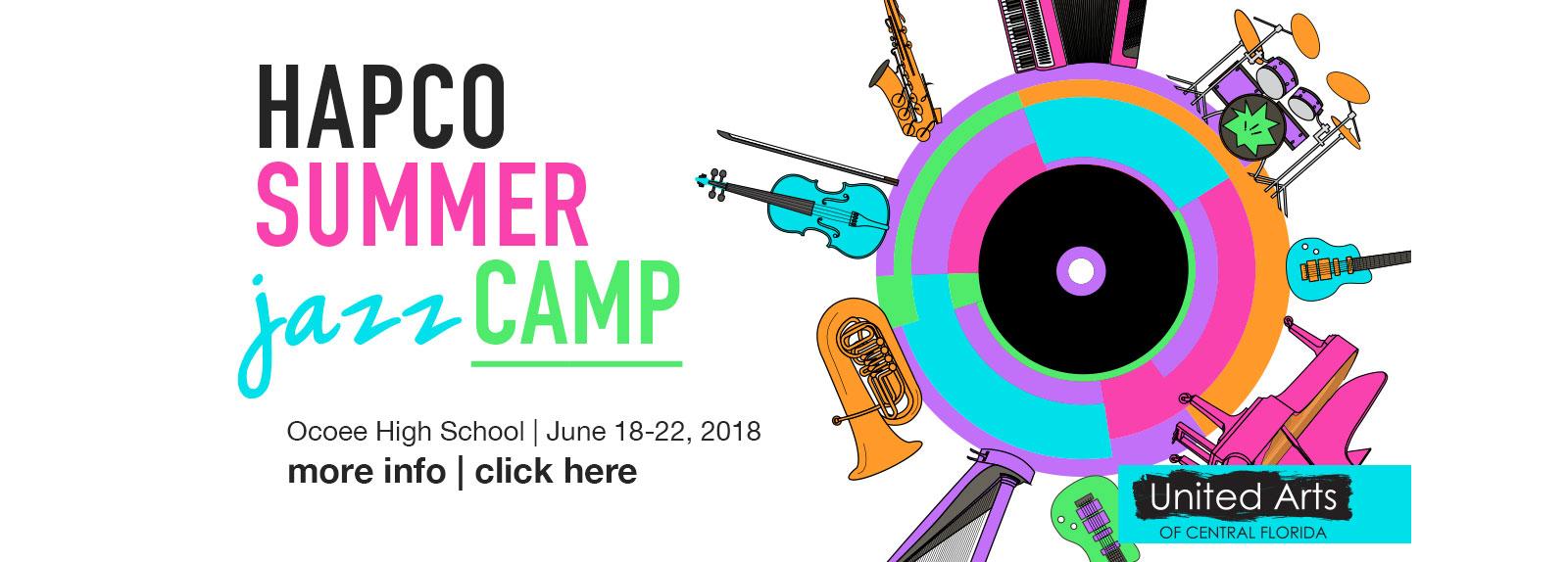 HAPCO Summer Jazz Camp 2018