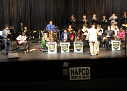Over 120 Young People Attend HAPCO's Winter Jazz Clinic