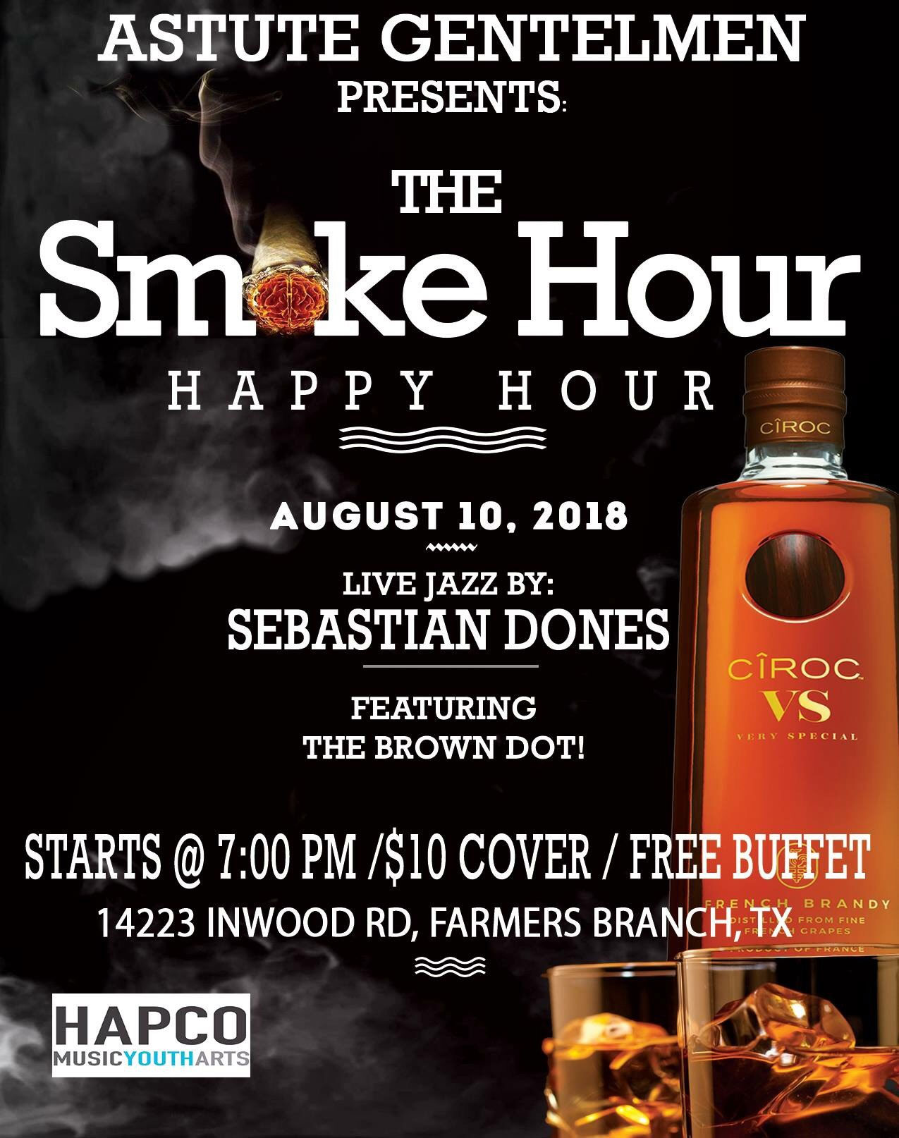 Smoke Hour flyer