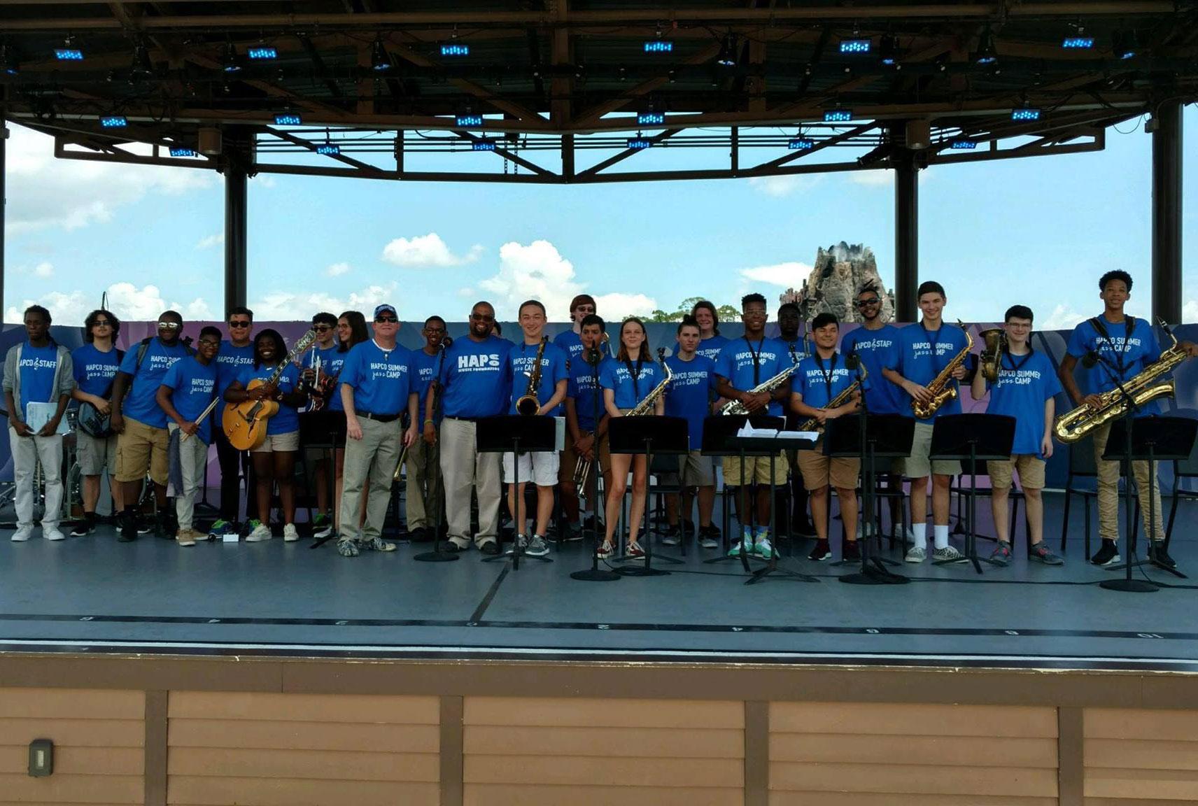 HAPCO Summer Jazz Band Camp