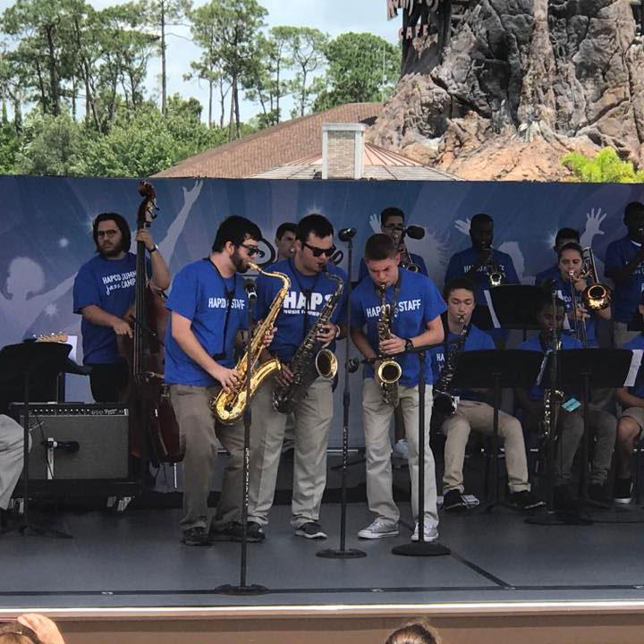 HAPCO Summer Jazz Band Camp performance