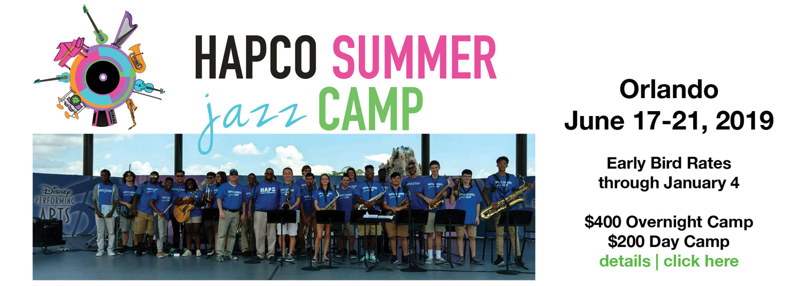 2019 HAPCO Summer Jazz Band Camp