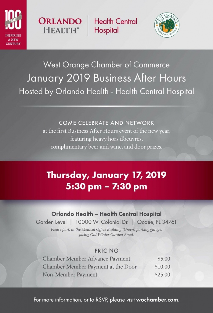 January 2019 Business After Hours