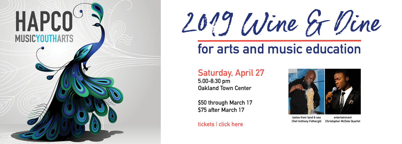 Wine & Dine for the Arts