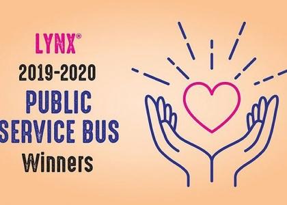 Lynx 2019-2020 Public Service Bus Winners