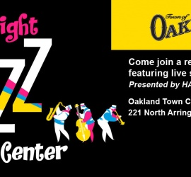 Town of Oakland JaZZ in the Center #JITC – July 26th