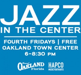 Town of Oakland JaZZ in the Center #JITC – August 23rd