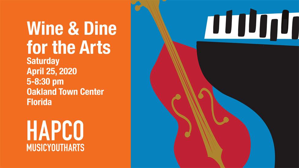International Jazz Day - HAPCO Wine & Dine for the Arts