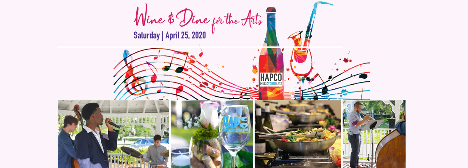 wine and dine for the arts