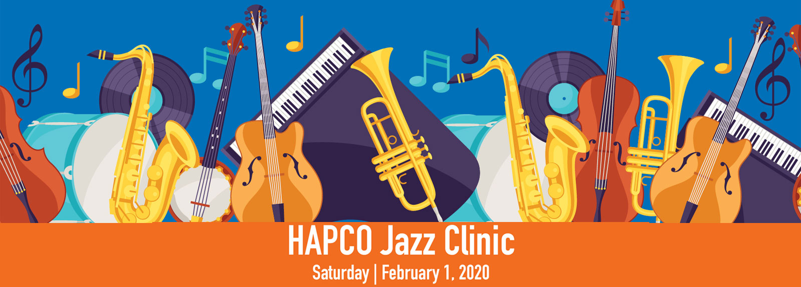 2020 HAPCO Winter Jazz Clinic