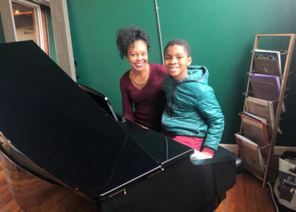 Piano Lessons for Aaron