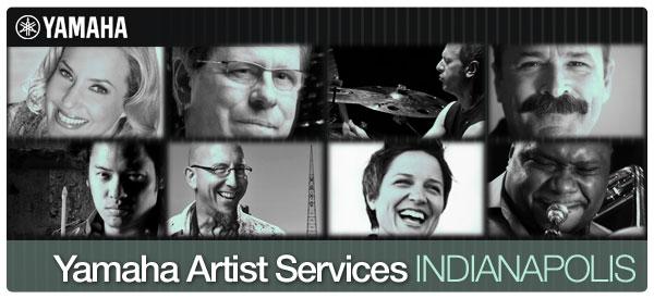 Yamaha Artist Services banner
