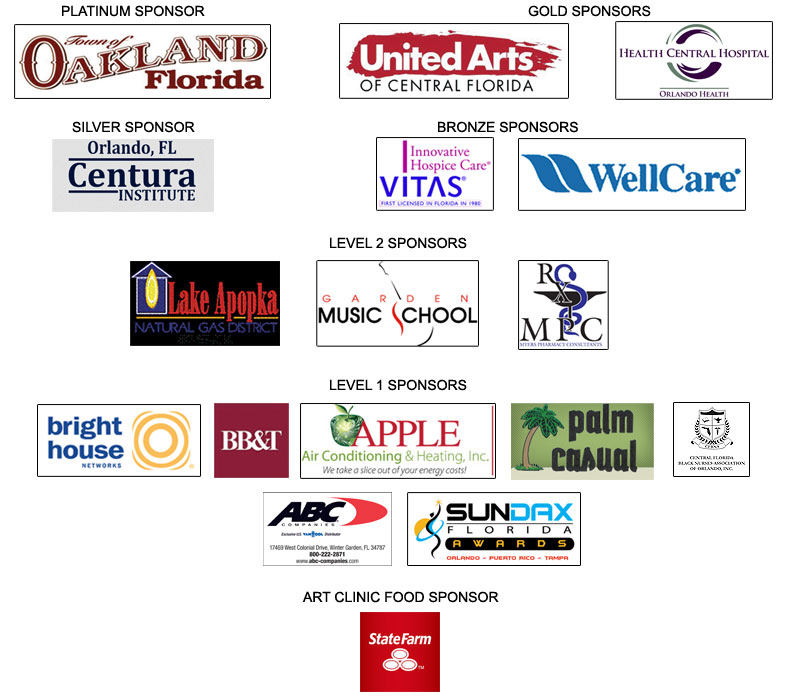 Triple A Festival sponsors