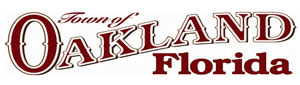 Town of Oakland, Florida logo
