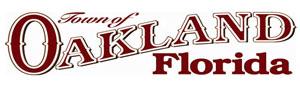 Town of Oakland, Florida logo