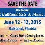9th Annual Town of Oakland Arts & Music Festival