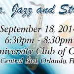 Sips, Jazz and Strokes event
