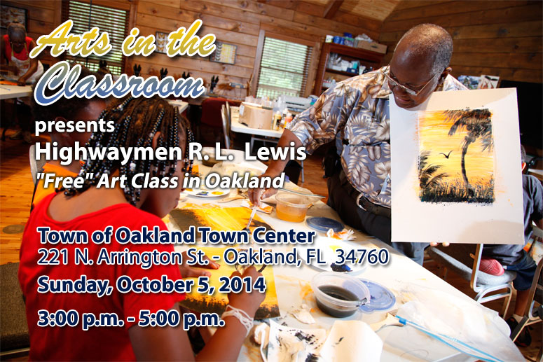 Arts in the Classroom free art class